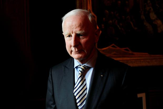 File photo dated 9/3/2012 of Patrick Hickey, President of the Olympic Council of Ireland, who police in Brazil have confirmed has been arrested as part of an investigation into alleged ticket touting at the Rio games. PA