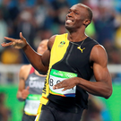 Speed king: Yes, he is the world's fastest man, is jolly funny and seems an awfully nice chap, but superstar Usain Bolt's bunny shapes are not even worthy of a bronze medal
