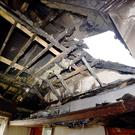Salterstown Orange hall was extensively damaged in an arson attack earlier this week — the latest in a long list of attacks on the institution's properties