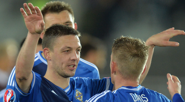 Good pals: Chris Baird and Steven Davis have enjoyed highs and lows