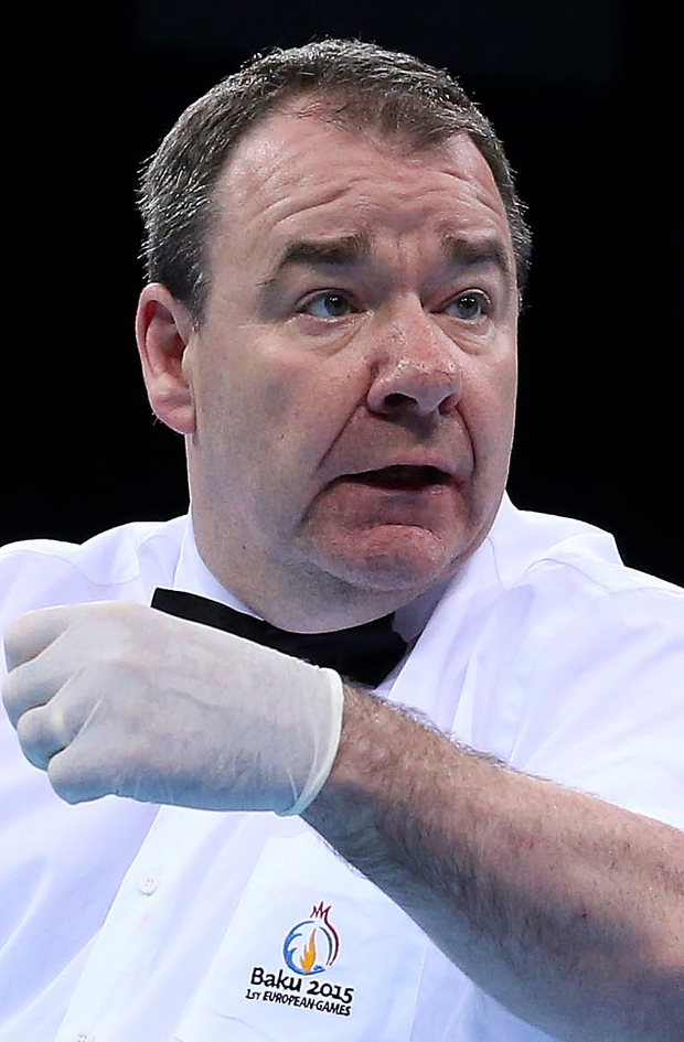 Michael Gallagher is a highly respected referee