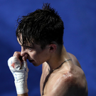 Controversial defeat: Michael Conlan wasn't given the decision against Vladimir Nikitin despite appearing on top