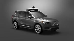 The Volvo XC90s that will be driving themselves around Pittsburgh in the next few weeks Uber