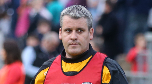 In the running: Ollie Bellew is in with a chance of getting the Antrim job