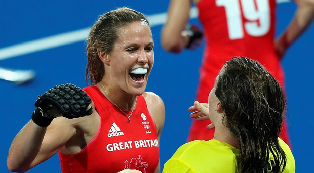 All smiles: Crista Cullen can't wait to battle for an Olympic gold medal