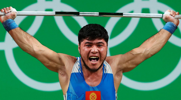 Forfeit: Izzat Artykov has lost his bronze after he failed a doping test