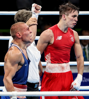 Shocker: Michael Conlan's controversial defeat to Vladimir Nikitin has led to serious questions being asked of the judging in Rio