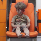 Haunting image: Omran Daqneesh. Photo: Aleppo Media Center via AP