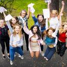 A-Level results day 2016 - Victoria Collage girls on the 18th August 2016, Belfast , Northern Ireland ( Photo by Kevin Scott / Belfast Telegraph )