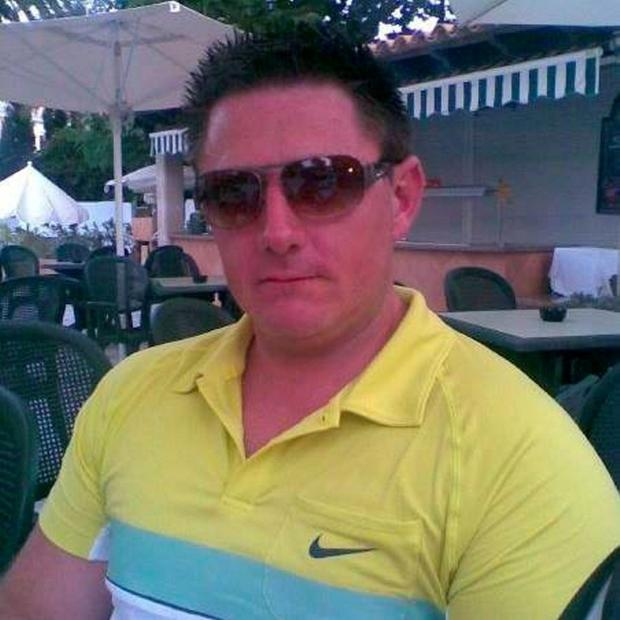 Trevor O'Neill, who was shot dead in Spain in a case of mistaken identity