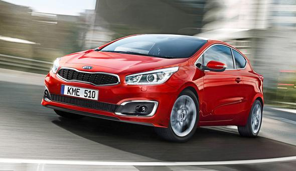 Pricing for the Kia pro_ceed kicks in at £15,250 for the entry level 1.4-litre SR