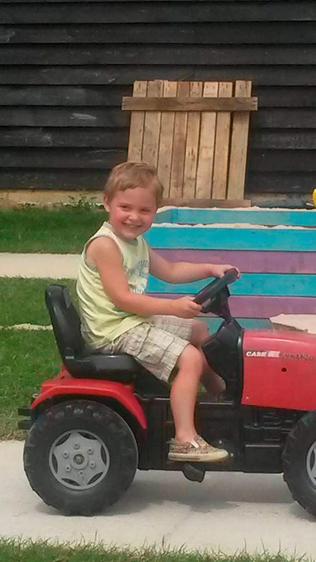Three-year-old Dexter Neal, who died after being attacked by a dog in Halstead, Essex. Essex Police/PA Wire