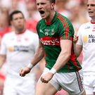 Huge boost: Cillian O'Connor is determined to build on Mayo's quarter-final win over Tyrone