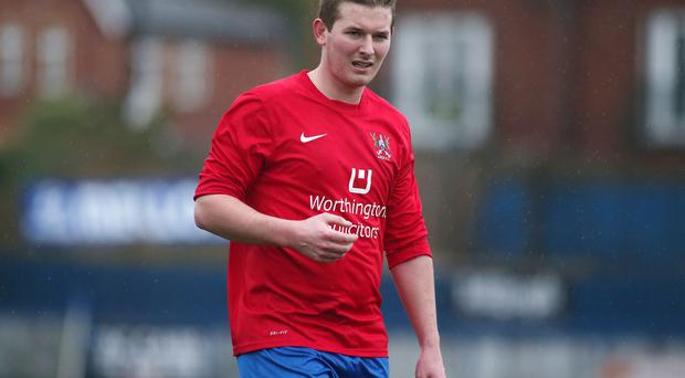 Confident: Ross Arthurs is ready to fight to keep Ards in the top-flight