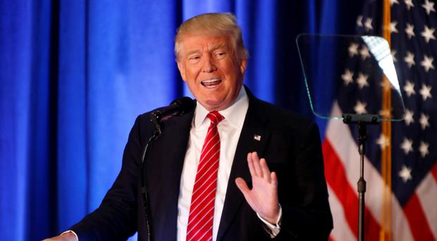 Donald Trump: lost campaign chief. Picture: AP Photo/Gerald Herbert