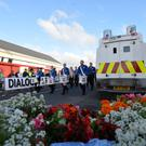 A parade hosted by Ballymaconnelly Sons of Conquerors, passes threw Rasharkin Main Street on Friday evening in 2016. Pic Colm Lenaghan/Pacemaker