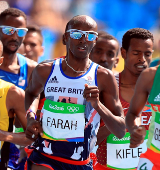 Tough test: Mo Farah has stiff competition in the 5,000m final