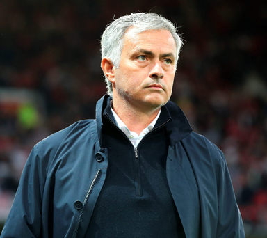 Class apart: Jose Mourinho watches his side brush aside Southampton