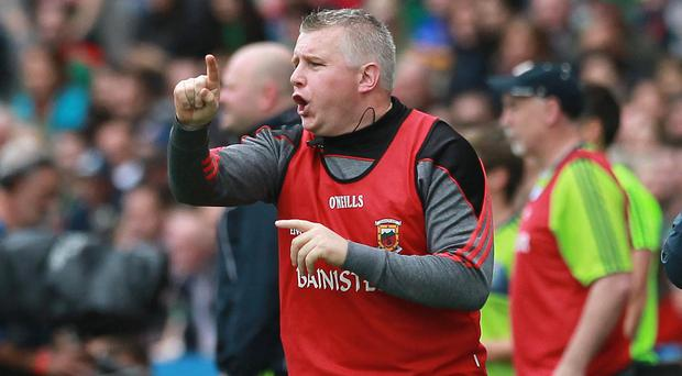 Good point: Stephen Rochford directs operations yesterday