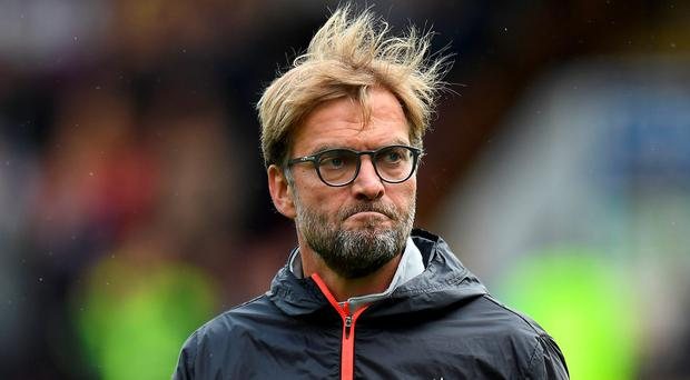 Bad day: Liverpool manager Jurgen Klopp
