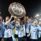 Just champion: Ballymena lift the County Antrim Shield