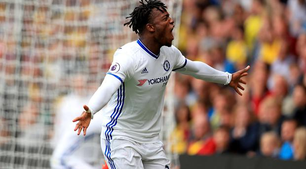 Michy Batshuayi is in line for his first Chelsea start after impressing off the bench