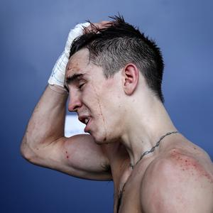 Michael Conlan following his defeat to Vladimir Nikitin of Russia