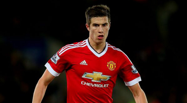 Last stand: Paddy McNair's switch to Sunderland breaks the long-standing Irish link with Old Trafford