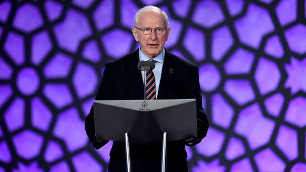 Questioned: Patrick Hickey. Photo: Matthias Hangst/Getty Images for BEGOC