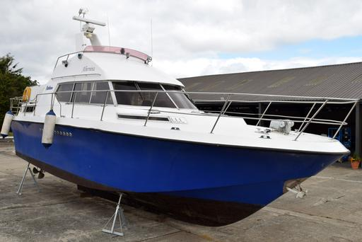 The MV Albernina will be auctioned off by Wilsons.