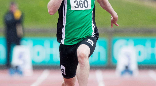 Speaking out: Derry sprinter Jason Smyth will compete in the Paralympic Games but Liam Harbison, Chief Executive of Paralympics Ireland, has expressed concerns over ticket sales