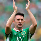 Bowing out: Robbie Keane is to retire from international duty following the Republic of Ireland's friendly with Oman next week