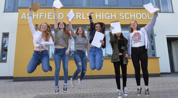 GCSE Results: Students results at Somercotes Academy deliver once again