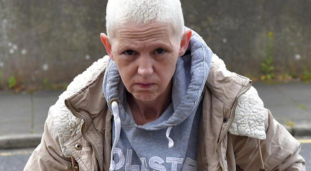 Dorothy Elaine Dawn Gardner (48), of Killycanavan Road, Dungannon, at a previous court appearance. Pacemaker press