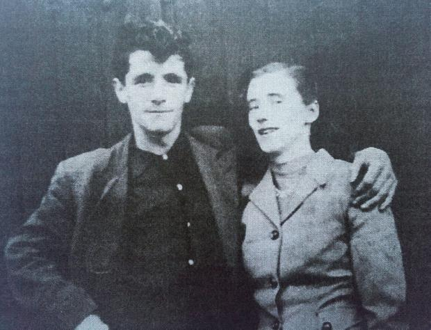 Undated family handout photo of Joseph Murphy, a victim of the 1971 British Army shootings in Ballymurphy, west Belfast, and his wife Mary, who are to be buried together after dying on the same day, 45 years apart. PRESS ASSOCIATION