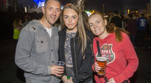 Fans out at Belsonic to see Disclosure at the Titanic Slipway, Belfast. Wednesday 24th August 2016. Liam McBurney/RAZORPIX