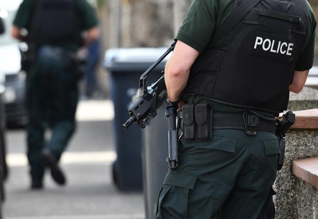 A PSNI officer's job requires exceptional resilience