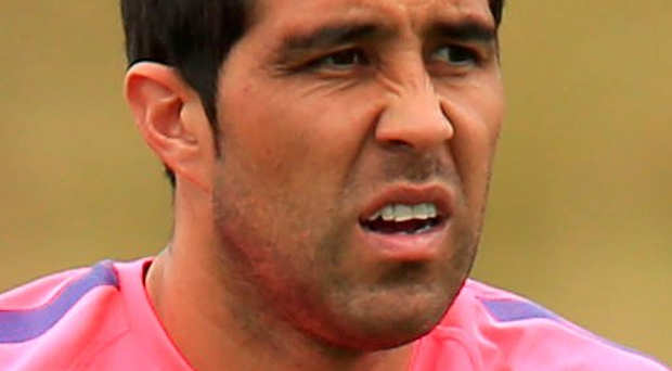 Aim: Claudio Bravo is keen to impress after joining City from Barcelona