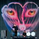 Galantis perform onstage at Tennent's Vital at the Boucher Road playing fields in Belfast, Northern Ireland on August 26th 2016 ( Photo by Kevin Scott / Belfast Telegraph )