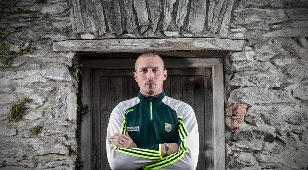 Ready to rock: Kieran Donaghy is raring to go