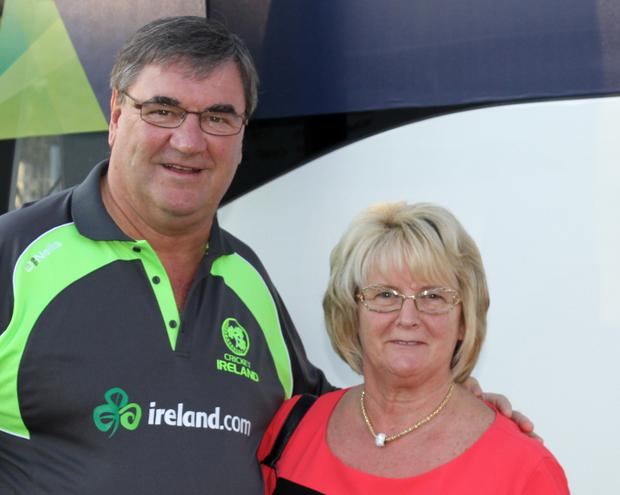 Committed: Roy Torrens and his wife Joan are determined to give something back to the game both at home and abroad