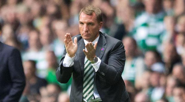 Attack: Brendan Rodgers says Celtic will fight the big guns