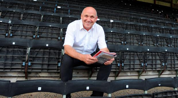 All smiles: Mike Phelan is expected to be given the Hull City job on a permanent basis after an unexpected perfect start to the season
