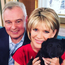 Eamonn and wife Ruth with dog Maggie. Pic @RuthieeL