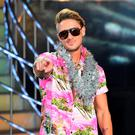 Triumph: Stephen Bear celebrates. Photo: Ian West/PA Wire