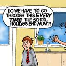 Steve Lee - for Mon 29 Aug 2016 Kids back to school