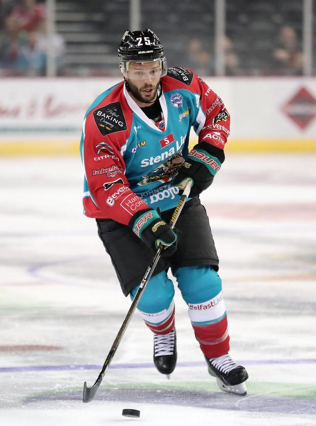 New arrival: Blair Riley scored his first goal for the Giants