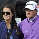 Graeme McDowell with Kristin Stape