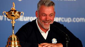 European Ryder Cup captain Darren Clarke during a press conference at Wentworth Golf Club, Surrey. PRESS ASSOCIATION Photo. Picture date: Tuesday August 30, 2016. See PA story GOLF Ryder. Photo credit should read: Andrew Matthews/PA Wire