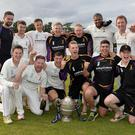 Champions: Instonians celebrate league title win after beating Waringstown at Shaw's Bridge